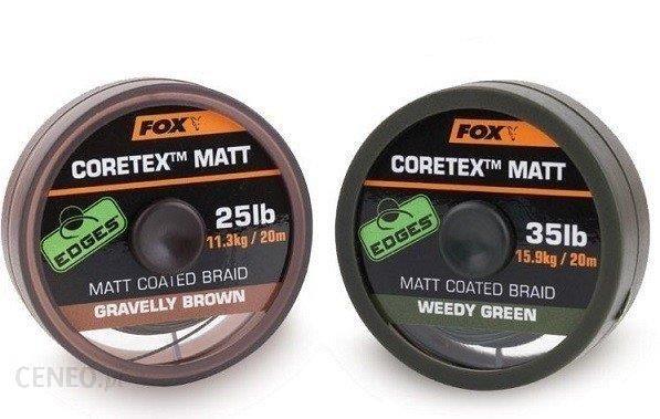 Fox Matt Coretex Gravelly Brown 20Lb 20M