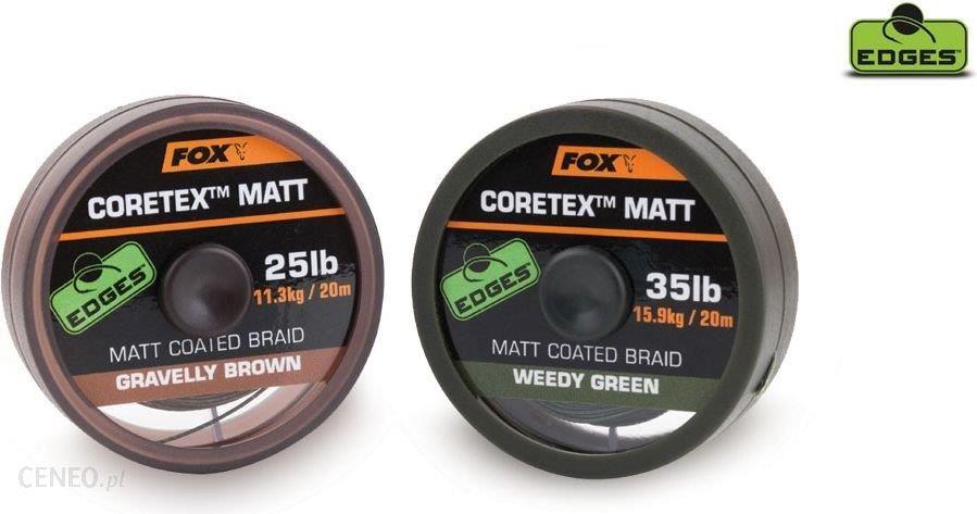 Fox Matt Coretex Weedy Green 20Lb 20M (Cac430)