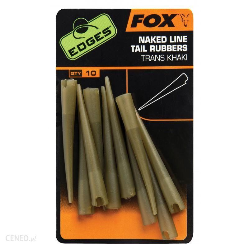 Fox Nasadki Gumowe Edges Naked Line Tail Rubbers 10Szt (Cac636)