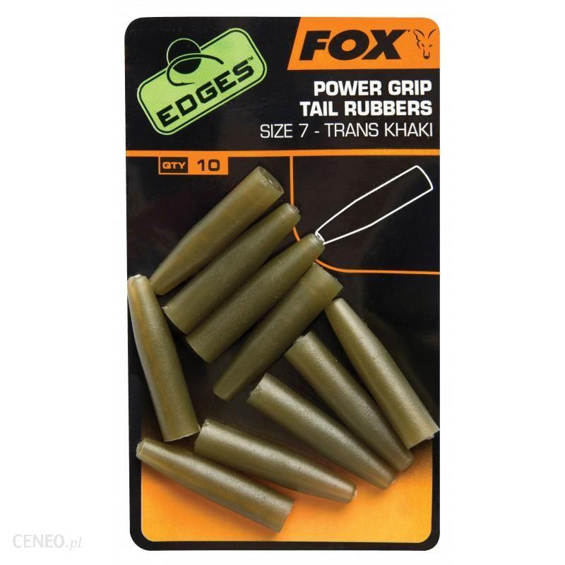 Fox Nasadki Gumowe Edges Power Grip Tail Rubbers R7 10Szt (Cac637)