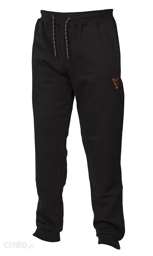 Fox Spodnie Joggersy Black Orange Xl