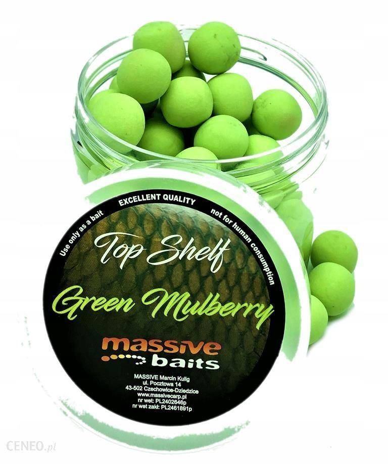 GREEN MULBERRY 14MM KULKI POP-UP MASSIVE BAITS PU026
