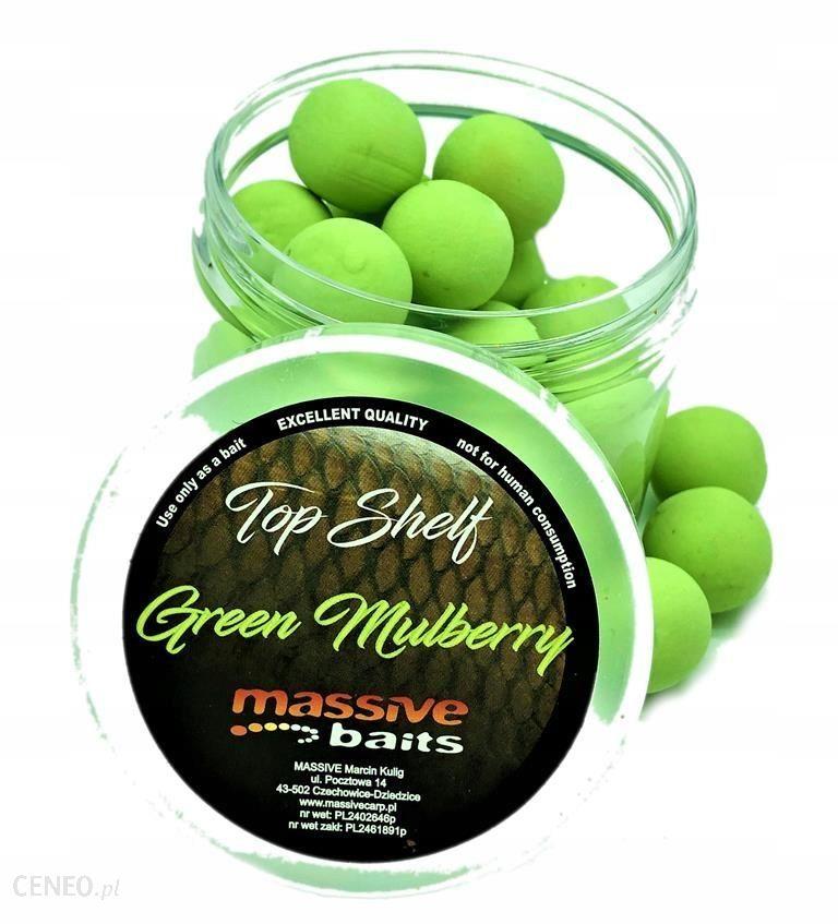 GREEN MULBERRY 18MM KULKI POP-UP MASSIVE BAITS PU025