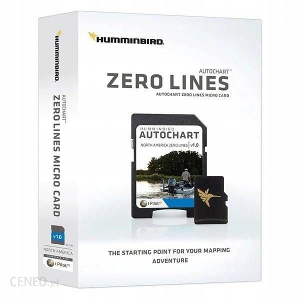 HUMMINBIRD AUTOCHART KARTA ZERO LINES MICRO EU (6000331M)