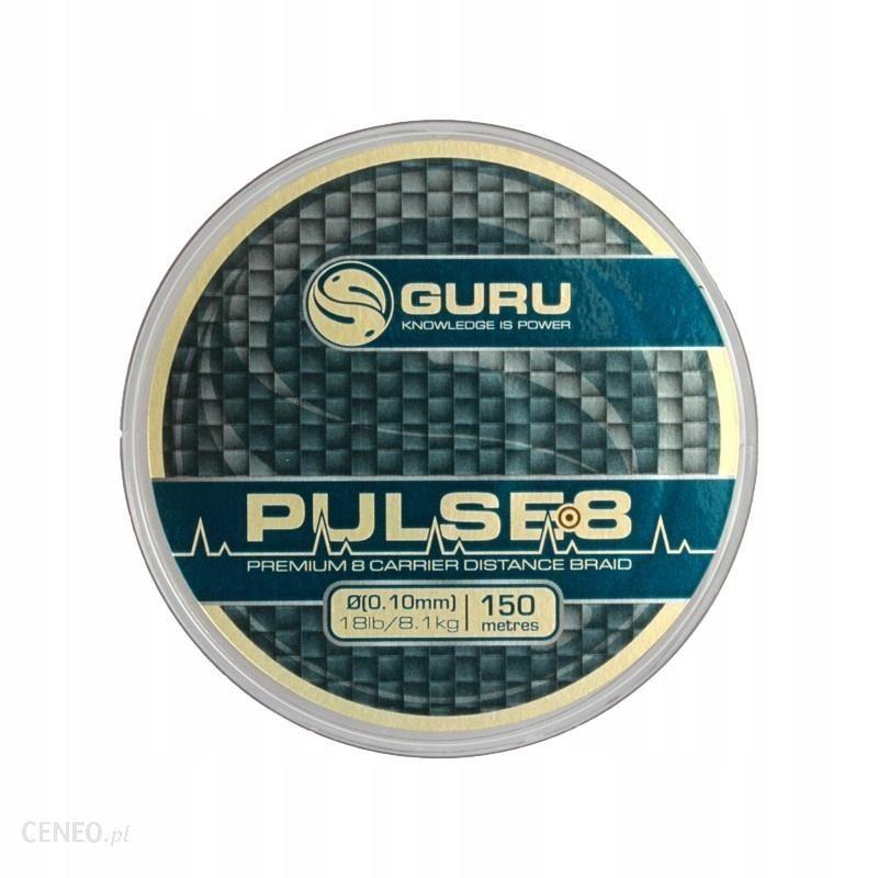 INNA MARKA PLECIONKA GURU PULSE-8 BRAID 150M - 0.10MM // 18LB GPULB10