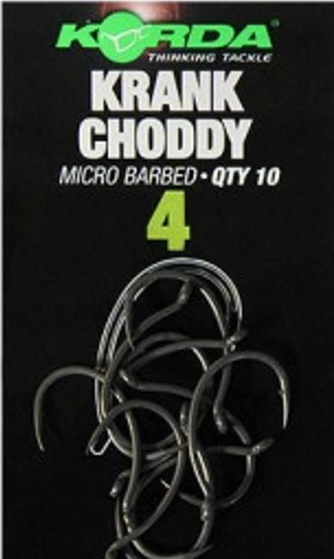 Korda Haczyki Krank Choddy Roz 10 (Krch10)