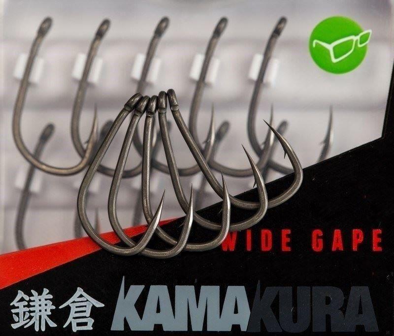 Korda Kamakura Wide Gape Hooks 4 Haki Karpiowe