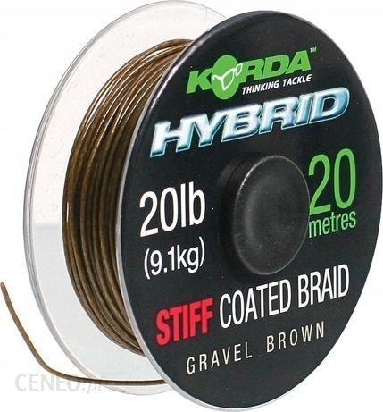 Korda Plecionka Hybrid Stiff 20Lb/20M Gravel
