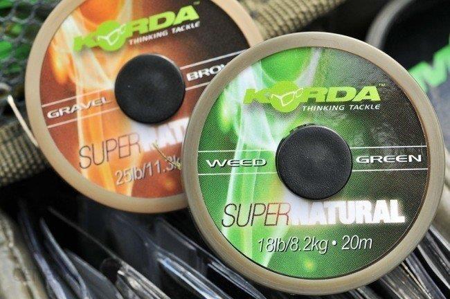 Korda Super Natural Weedy Green 25Lb 20M