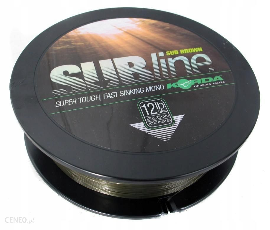 KORDA ŻYŁKA Subline Ultra 1000m Brown 15lb 0