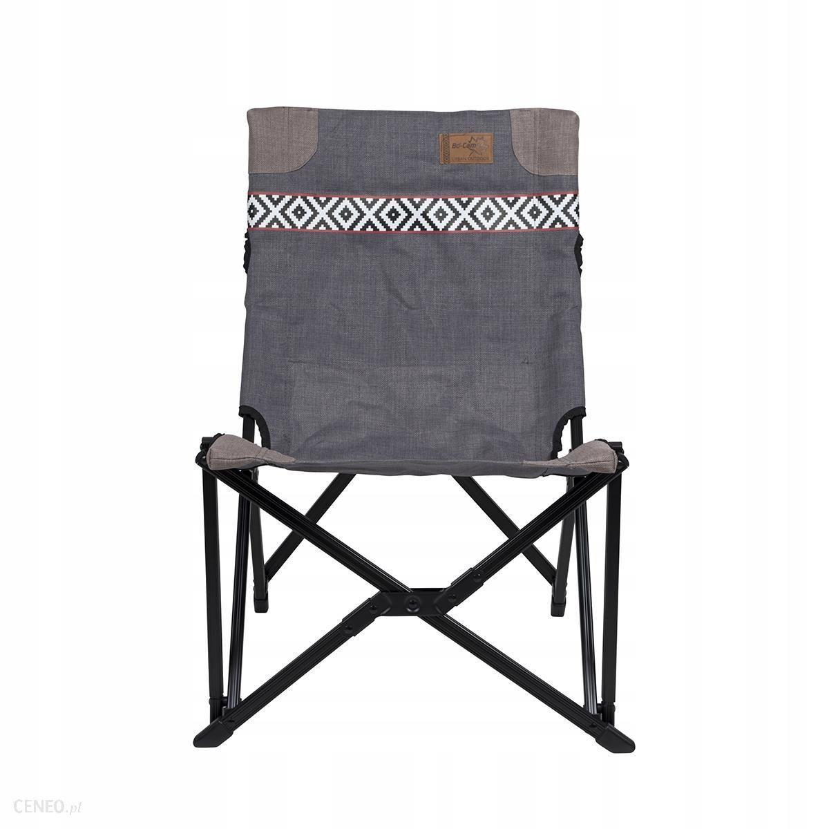 Krzesło kempingowe Brooklyn - Szary