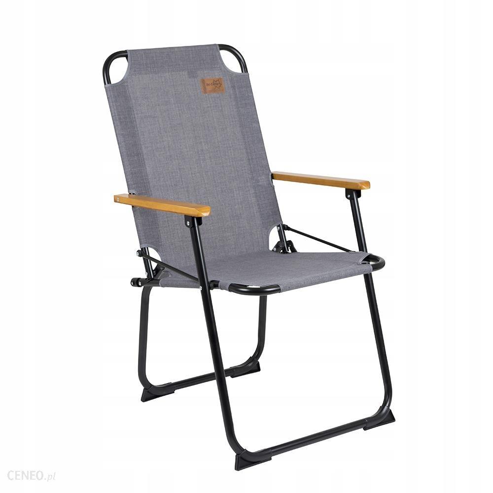 Krzesło turystyczne Brixton szare