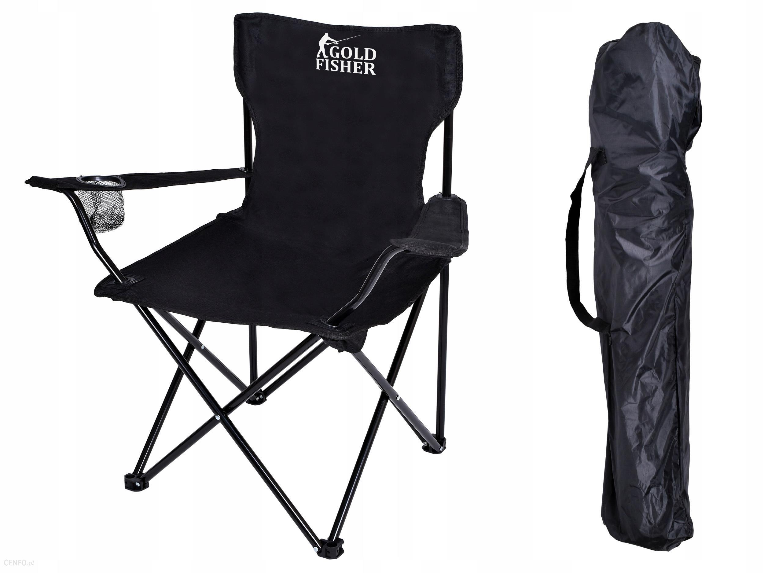 Krzesło Turystyczne Składane Na Kemping Plażę Ryby