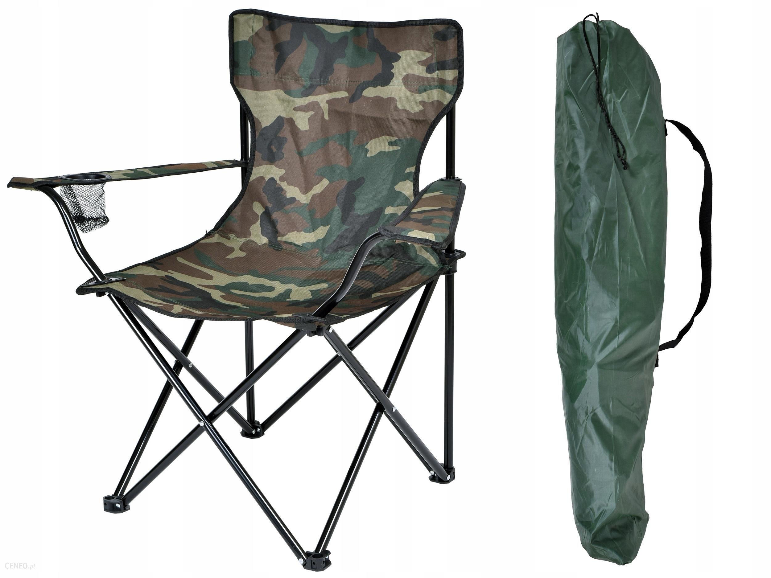 Krzesło Wędkarskie Turystyczne Składane Rybackie