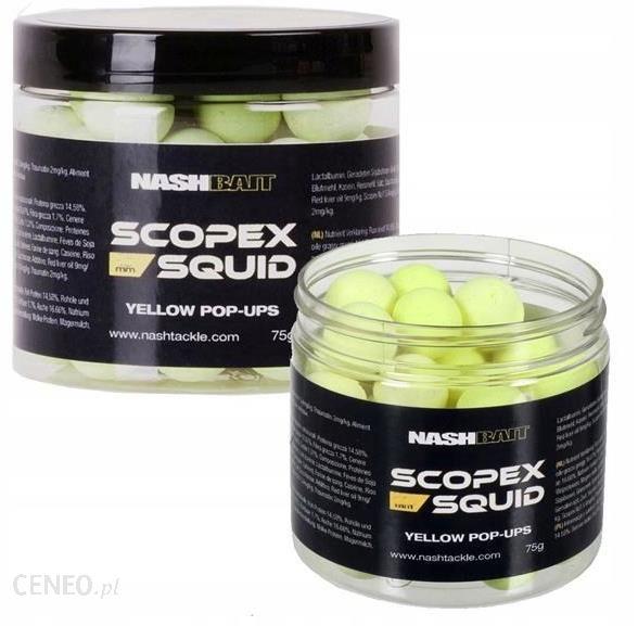 KULKI NASH SCOPEX SQUID POP UPS YELLOW 20MM 75G B6837