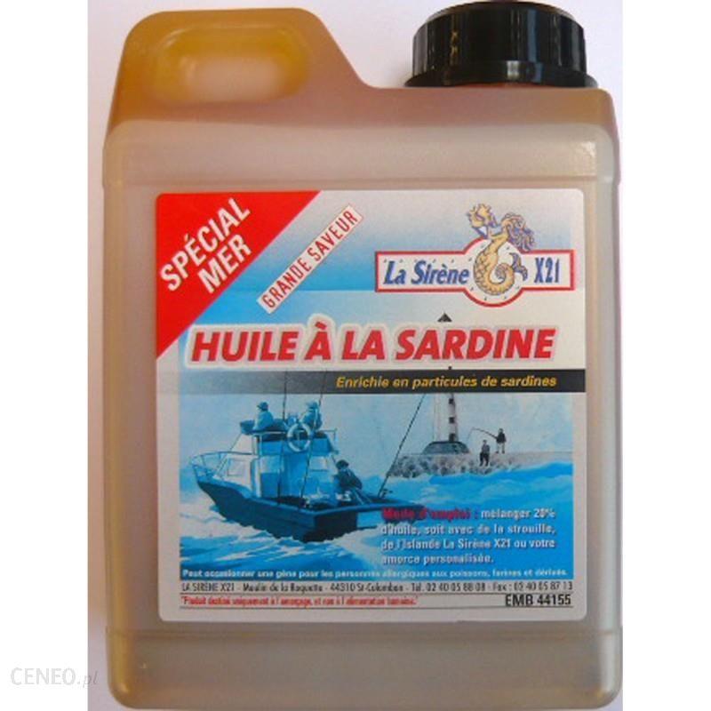 La Sirène X21 Olej Z Sardynek 1 L Ochra 1 L