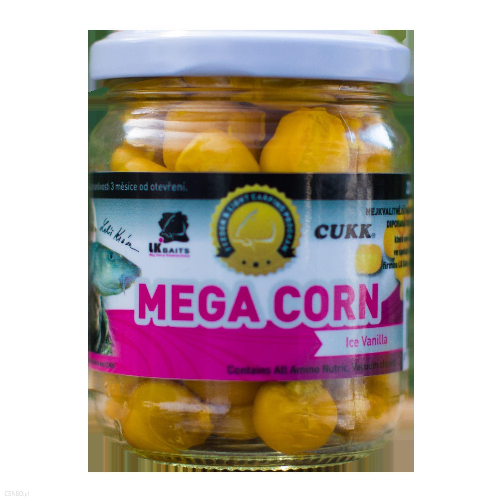 Lk Baits Mega Corn In Dip Kukurydza W Dipie Cukk Ice Vanilla