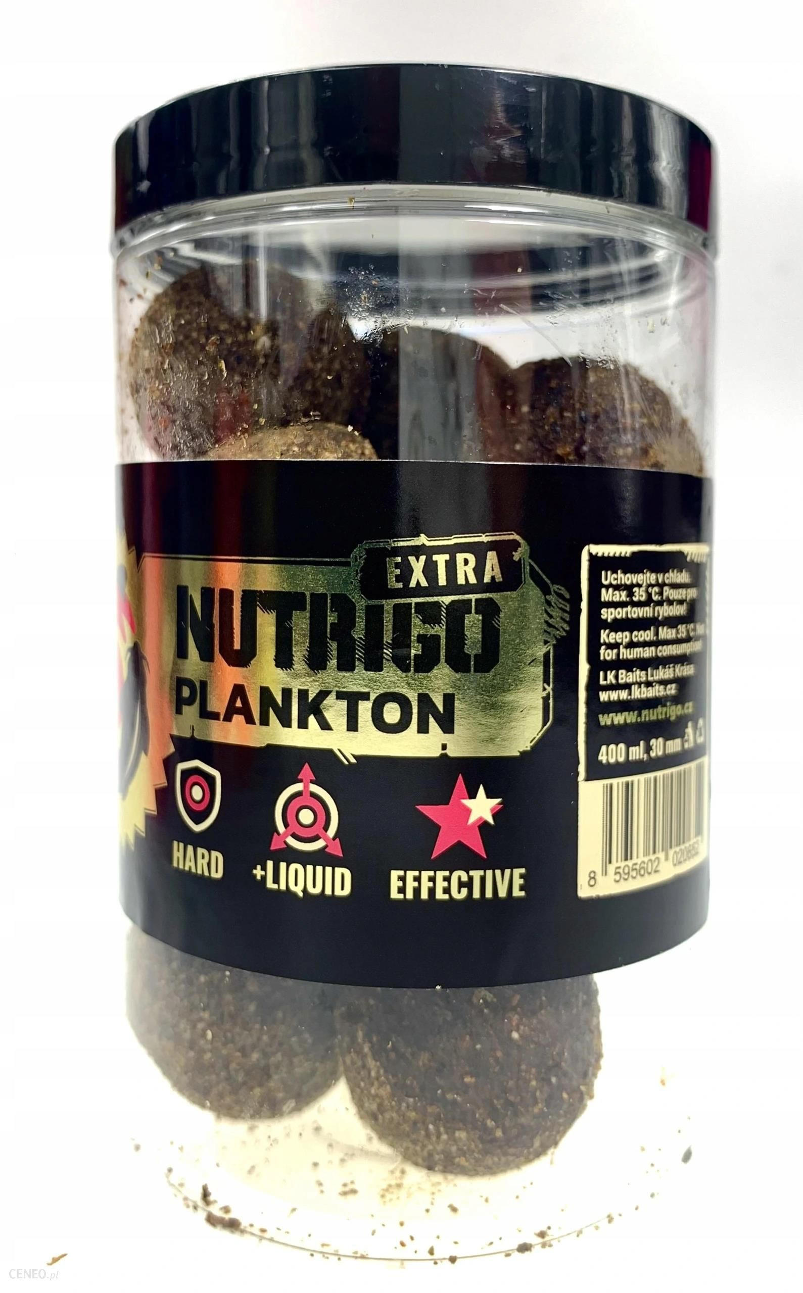 LK BAITS NUTRIGO EXTRA PLANKTON 30MM 400ML 04190144 (4190144)