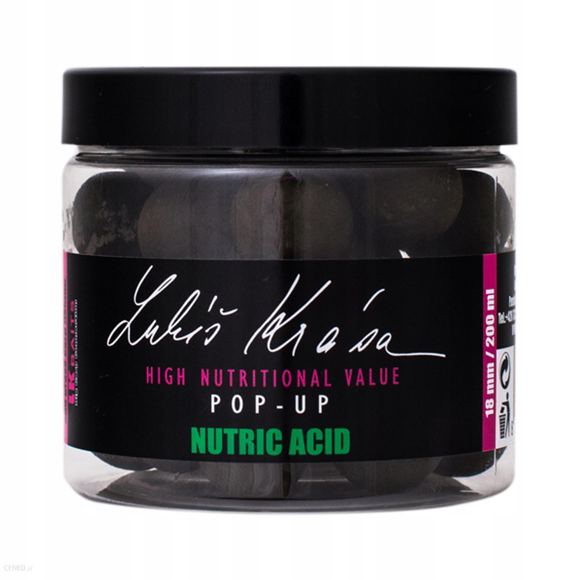 Lk Baits Pop Up Lukas Krasa Nutric Acid 18mm 200ml