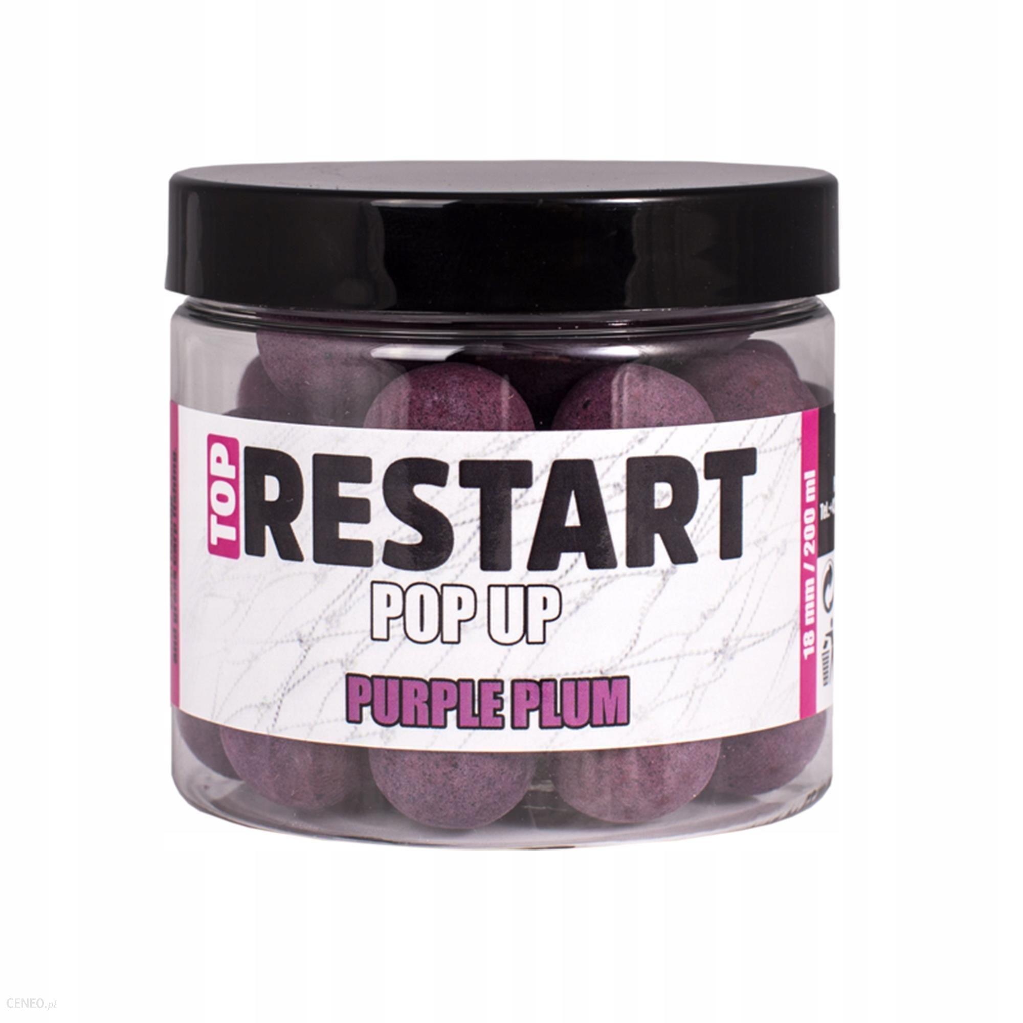 Lk Baits Pop Up Top Restart Purple plum 18mm 200ml