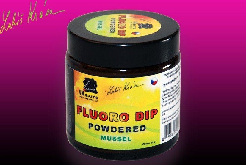 Lk Baits Restart Dip Powdered 40G Fluoro Ice Vanilia