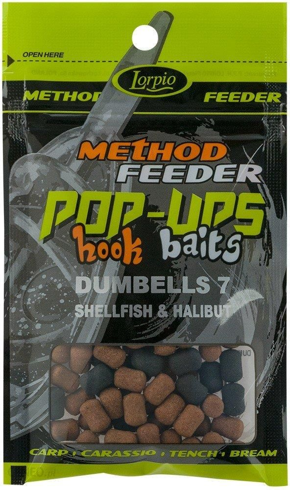 Lorpio Przynęta Hook Baits Pop-Ups Dumbells 7 Shellfish & Halibut 15G