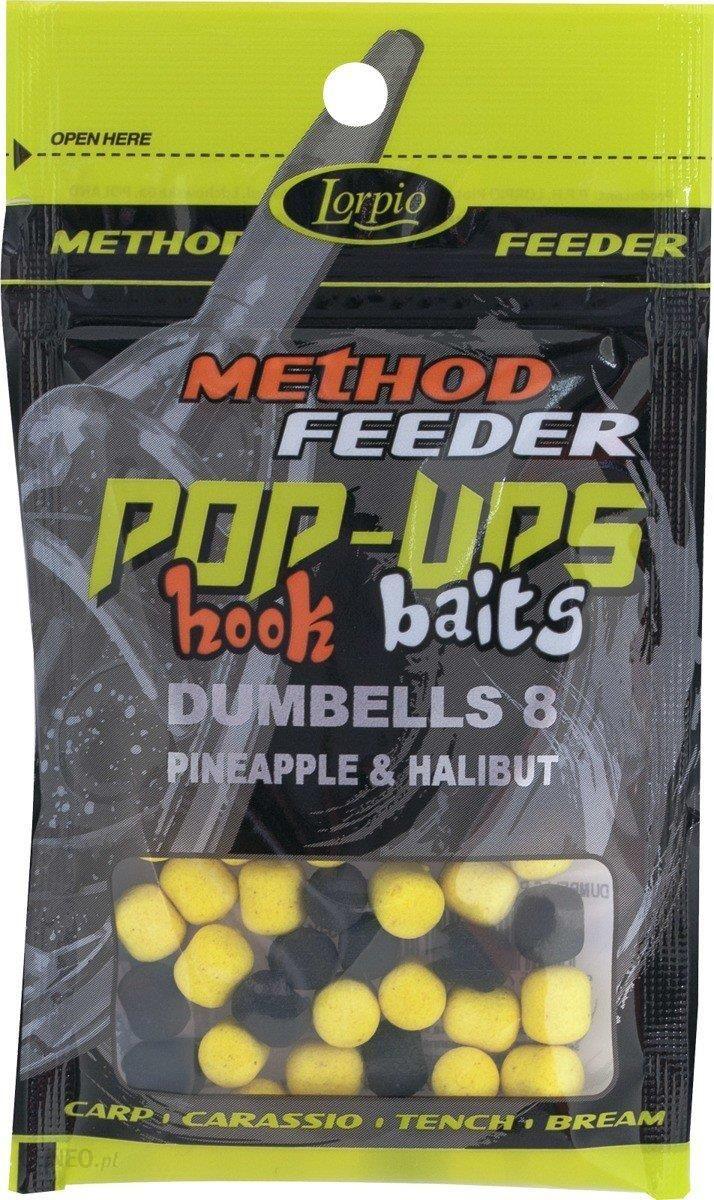 Lorpio Przynęta Hook Baits Pop-Ups Dumbells 8 Pineapple & Halibut 15G