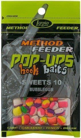 Lorpio Przynęta Hook Baits Pop-Ups Sweets 10 Bubblegum 15G