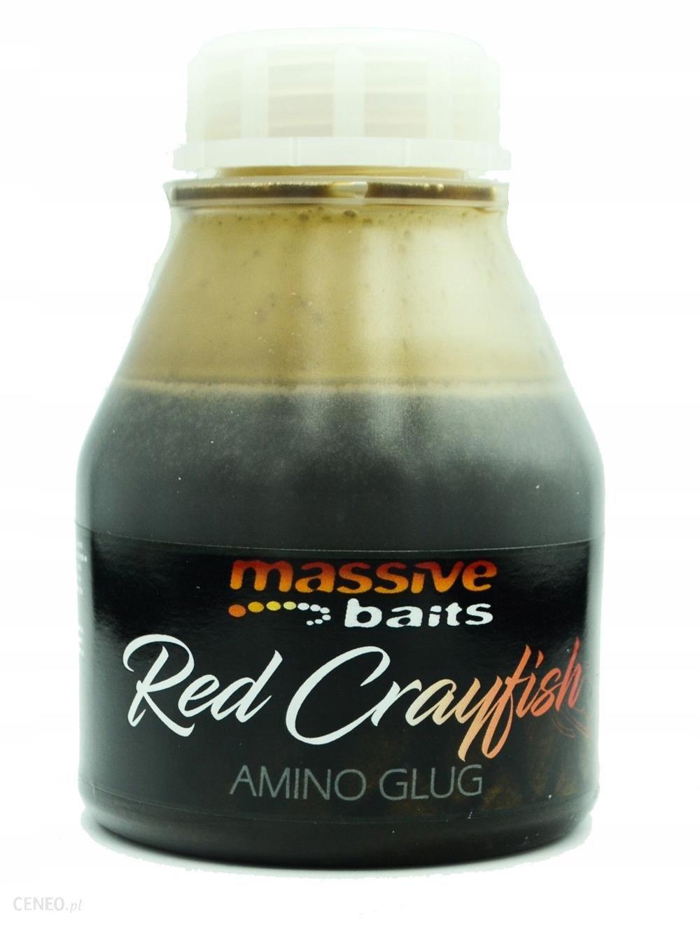 MASSIVE BAITS AMINO GLUG RED CRAYFISH 250ML