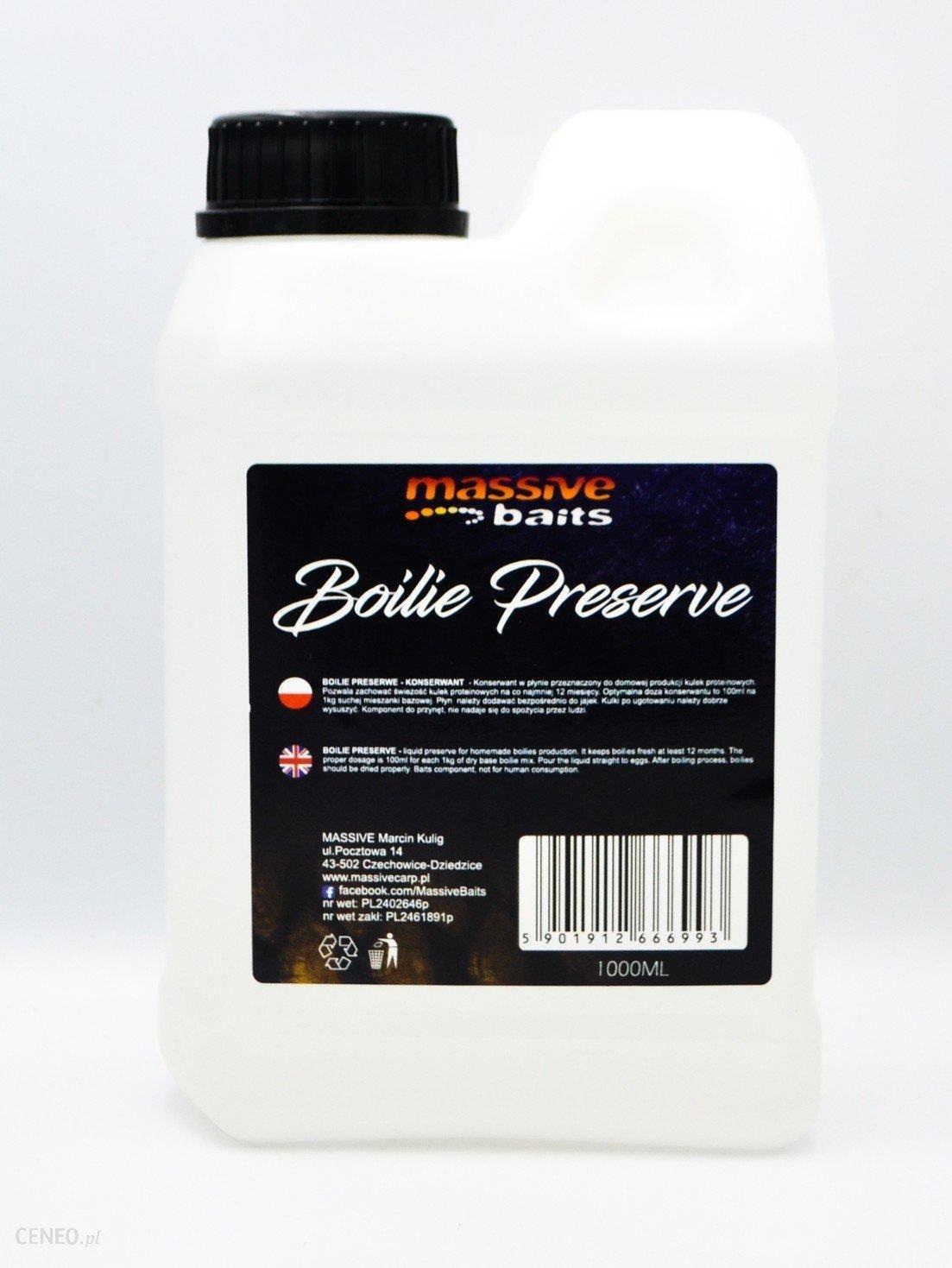 Massive Baits Boilie Preserve Konserwant
