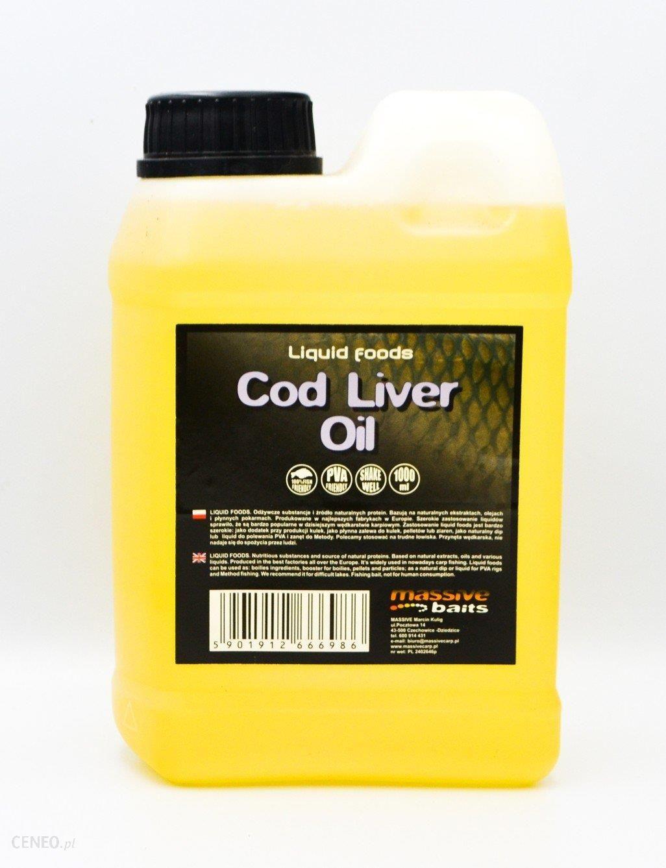 Massive Baits Cod Liver Oil Liquid