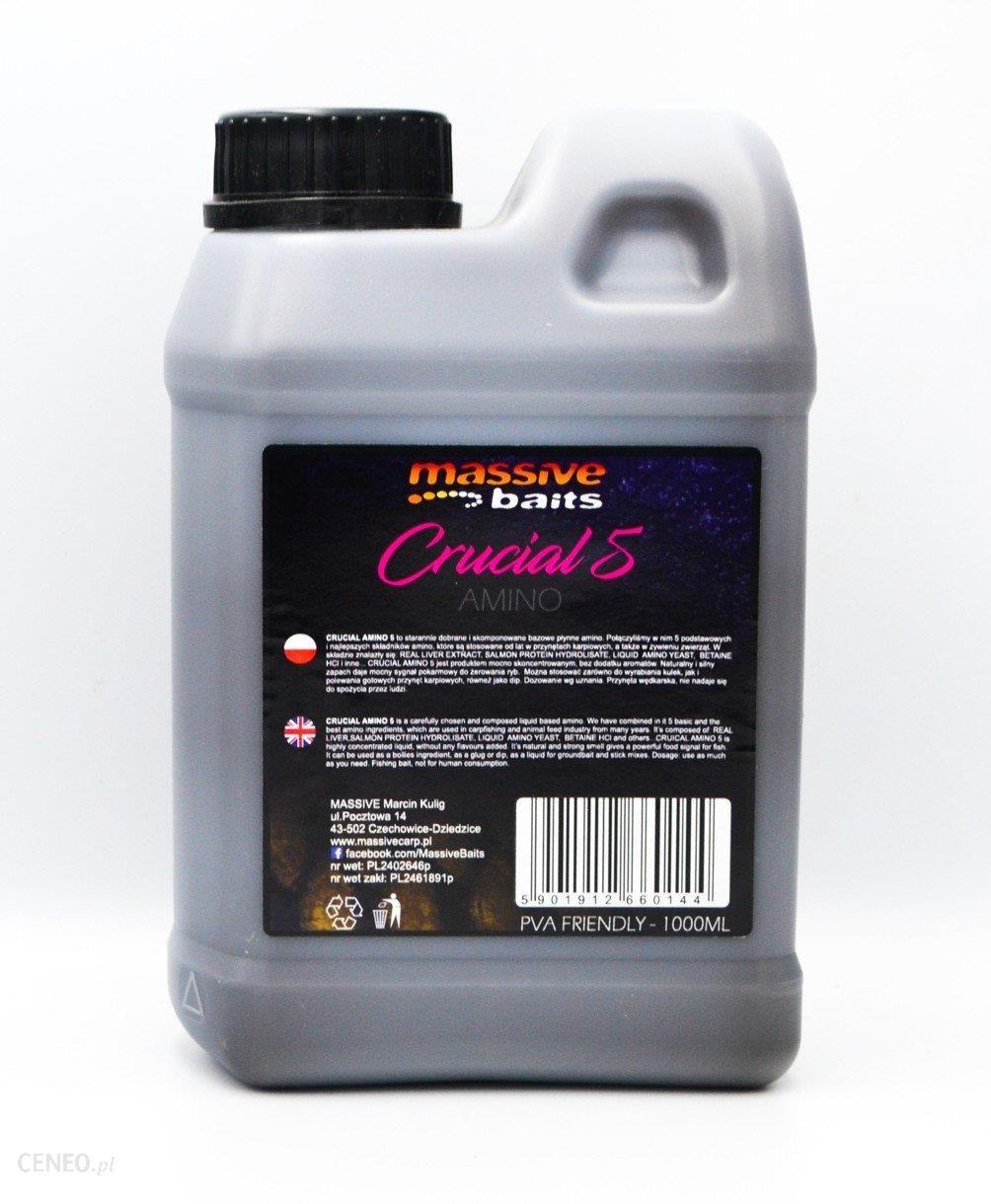 Massive Baits Crucial Amino 5 Liquid