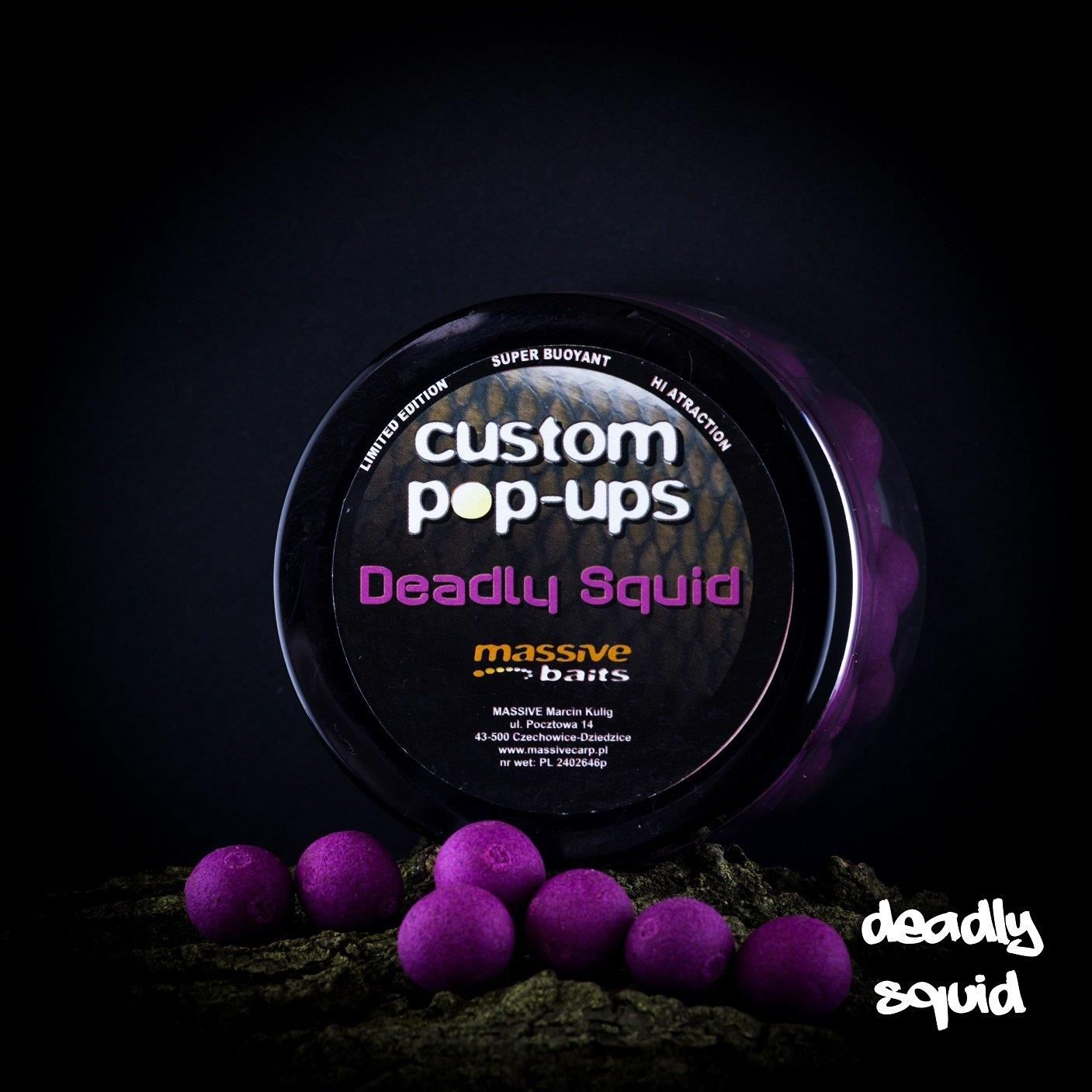 Massive Baits Deadly Squid 14Mm Pop Up