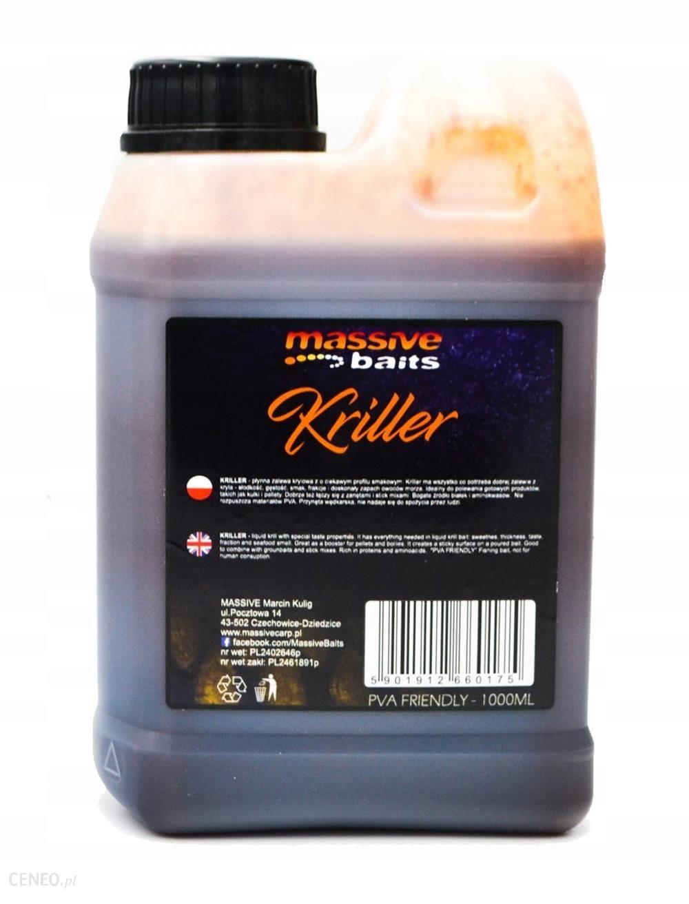 Massive Baits Liquid 1l Kriller