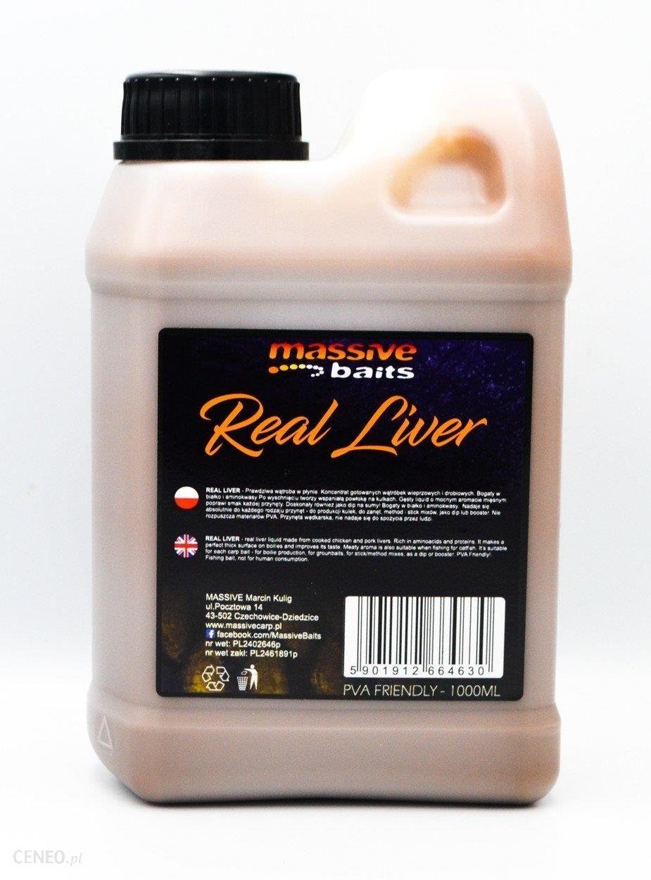 Massive Baits Real Liver Liquid