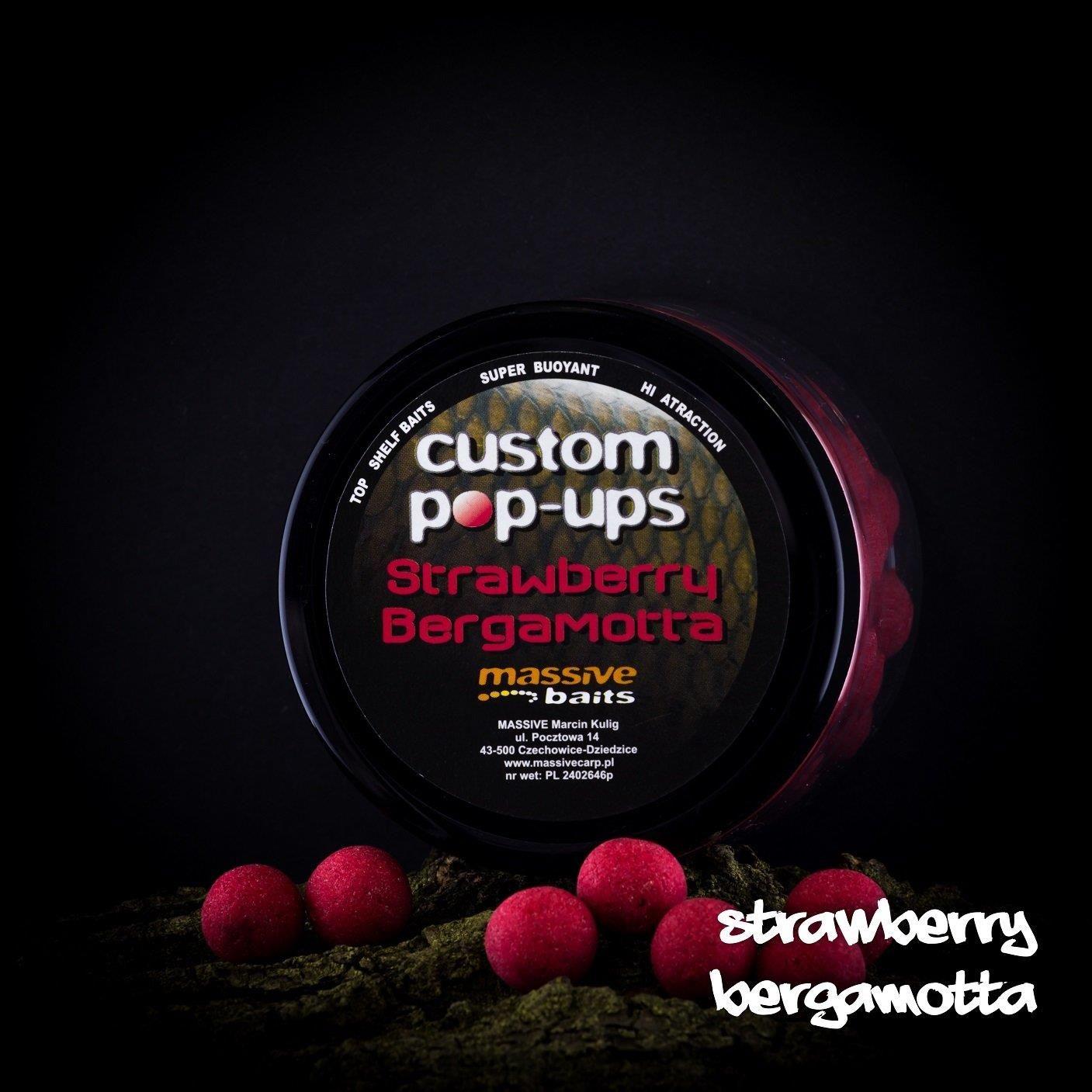 Massive Baits Strawberry Bergamotta 18Mm Pop Up