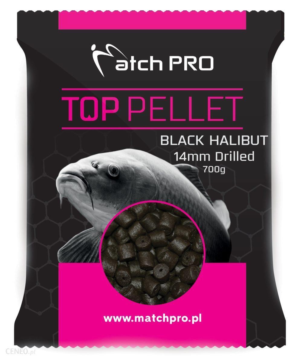 Matchpro Black Halibut Drilled 14Mm Pellet 700G