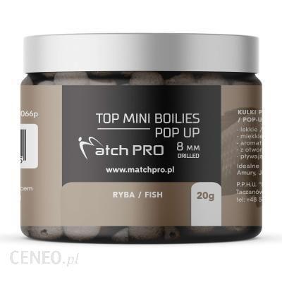 Matchpro Kulki Proteinowe Top Boilies Pop Up Fish 8Mm/20G