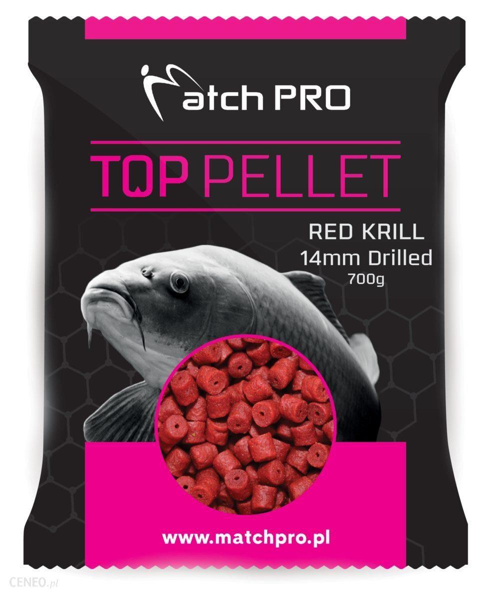 Matchpro Red Krill Drilled 14Mm Pellet 700G
