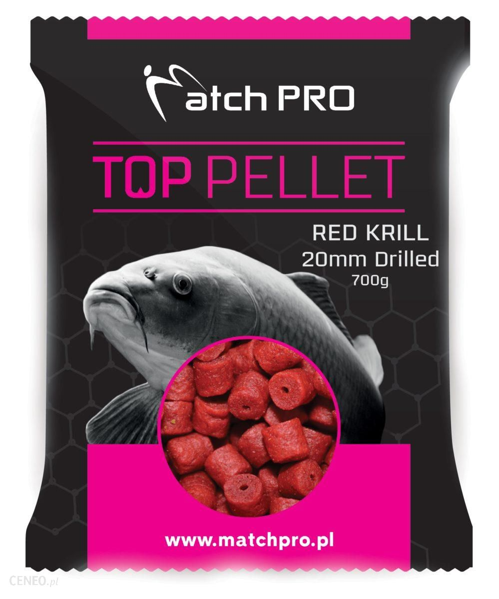 Matchpro Red Krill Drilled 20Mm Pellet 700G