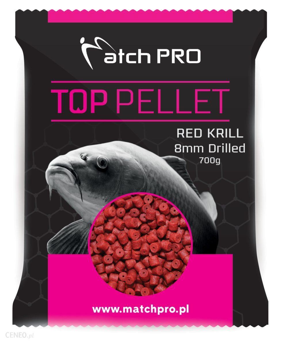 Matchpro Red Krill Drilled 8Mm Pellet 700G