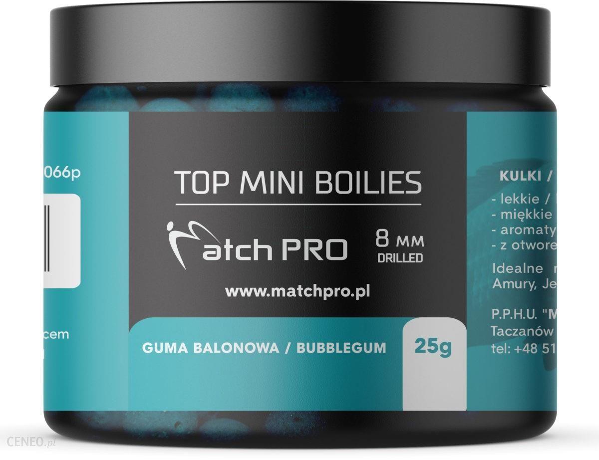 Matchpro Top Boilies Kulki Bubblegum 8Mm 25G