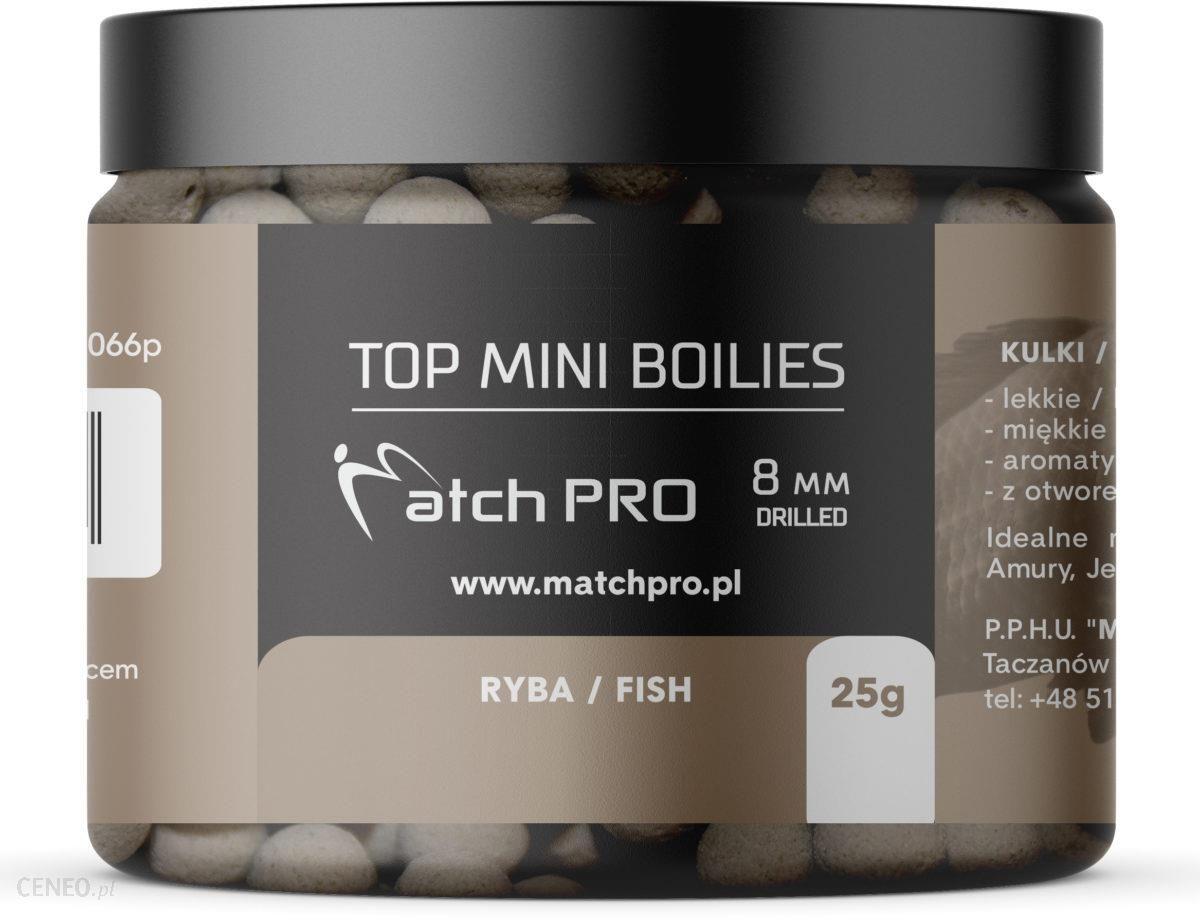 Matchpro Top Boilies Kulki Fish 8Mm 25G