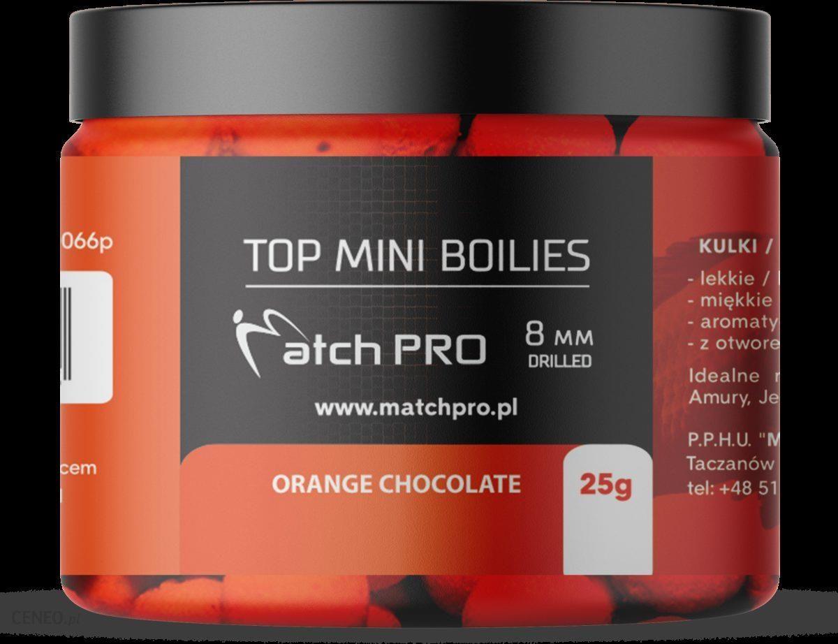 Matchpro Top Boilies Kulki Orange Chocolate 8Mm 25G