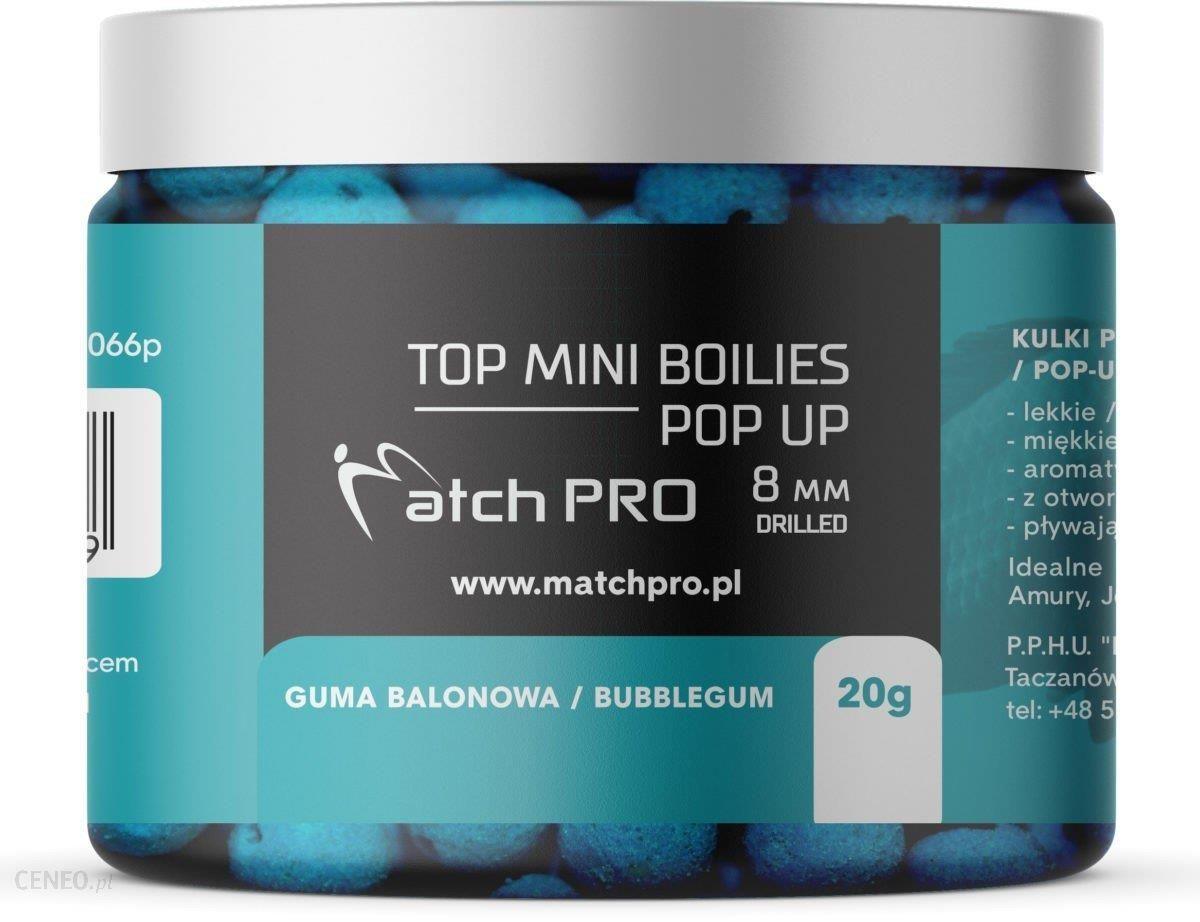Matchpro Top Boilies Kulki Pop Up Bubblegum 8Mm 20