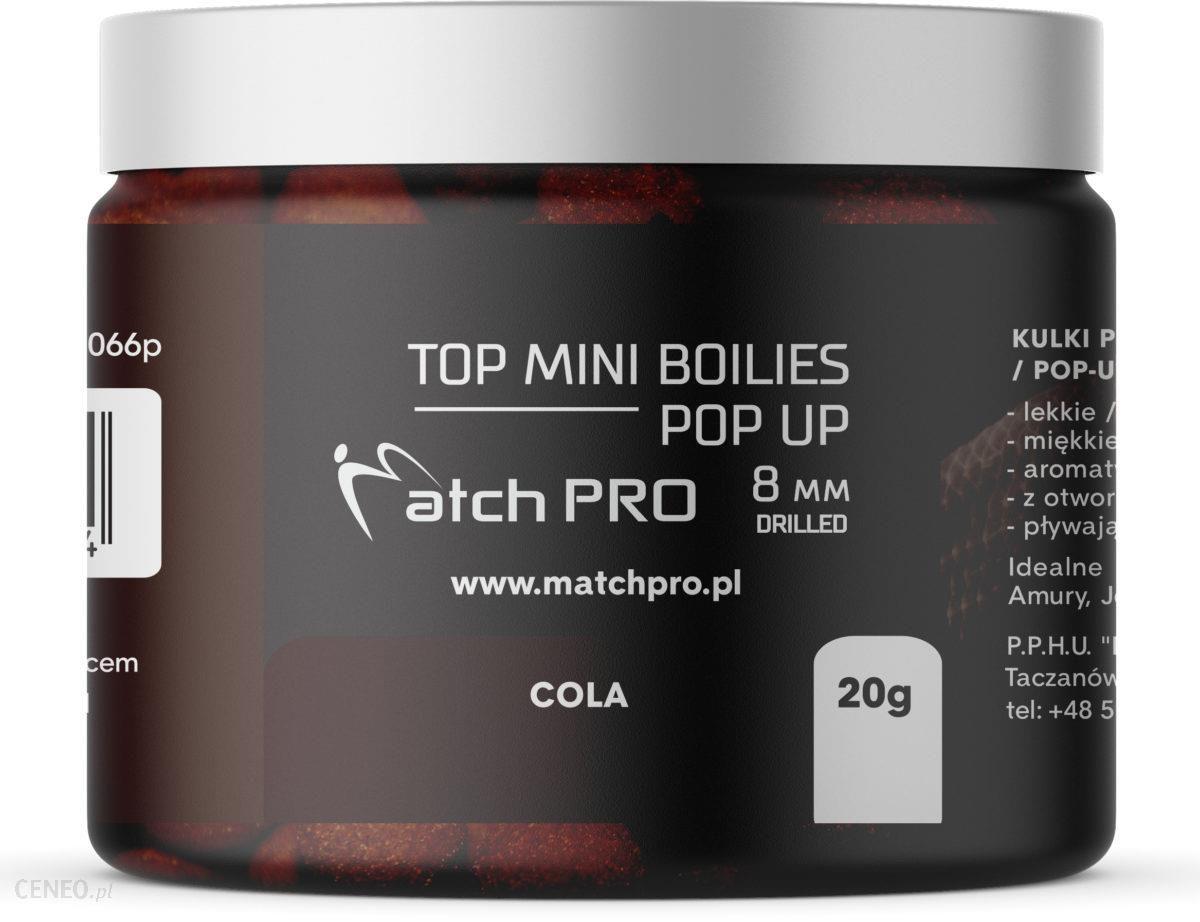 Matchpro Top Boilies Kulki Pop Up Cola 8Mm 20G