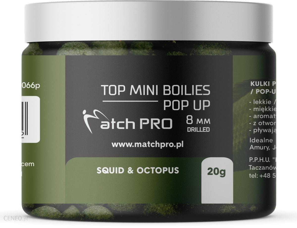 Matchpro Top Boilies Kulki Pop Up Squid Octopus 8Mm 20