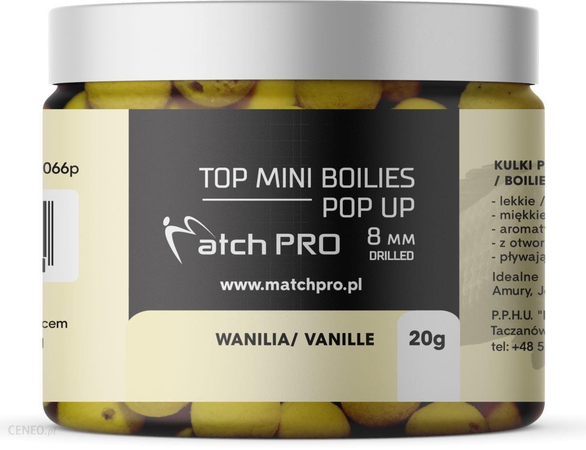 Matchpro Top Boilies Kulki Pop-Up Vanille 8Mm 20G