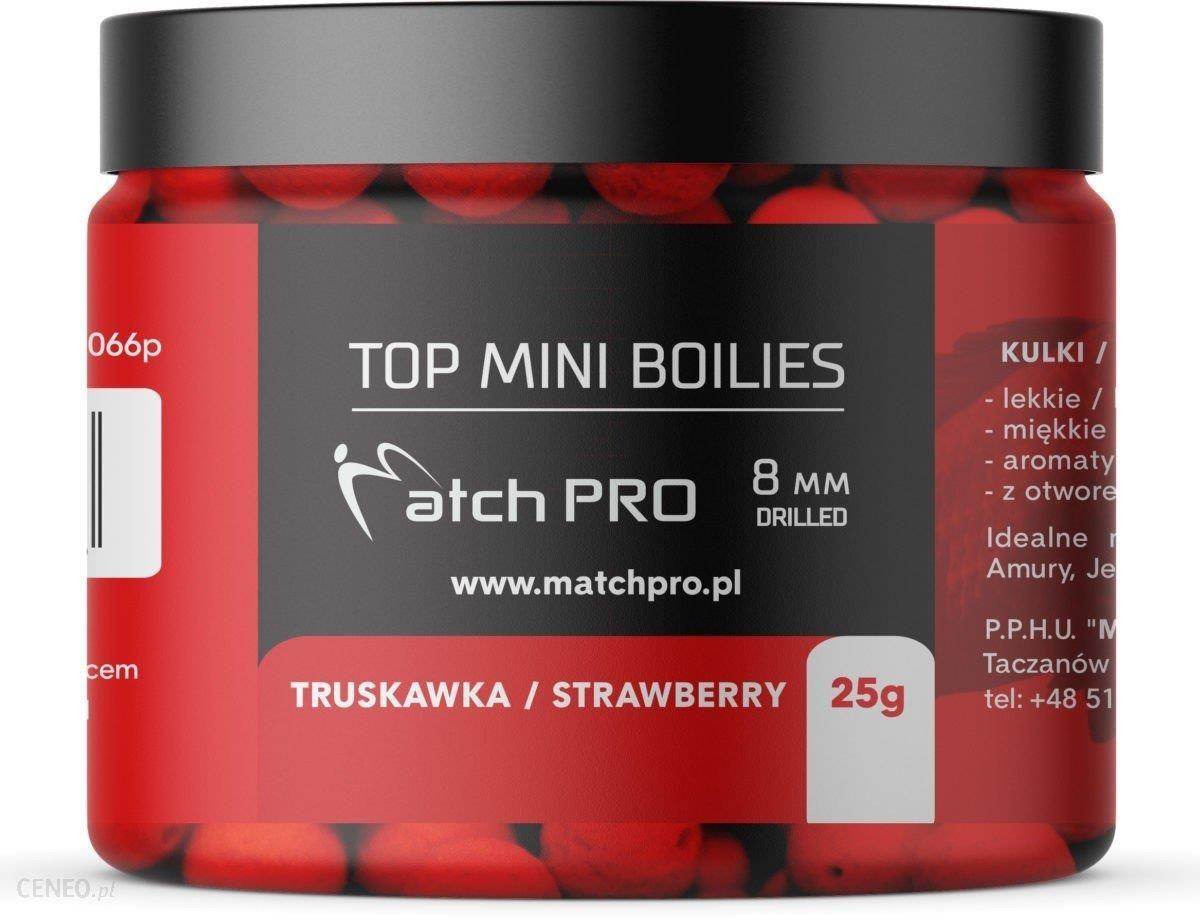 Matchpro Top Boilies Kulki Strawberry 8Mm 25G