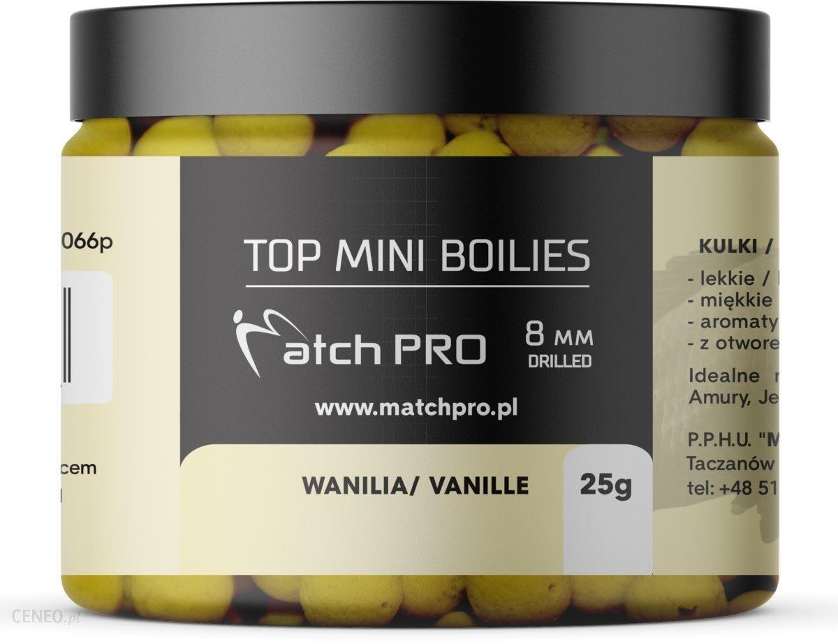Matchpro Top Boilies Kulki Vanilie 8Mm 25G